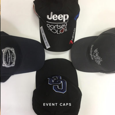 KNTC Custom Made Embroidered Caps Promotional Merchandise Items