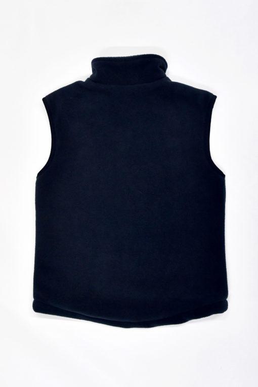 KNTC School Kids Uniform Navy Fleece Vest Black