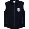 KNTC School Kids Uniform Polar Fleece Vest Navy Front