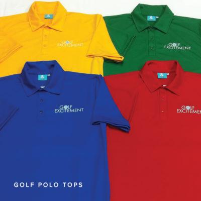 KNTC Sports Golf Club Custom Made Polo Tops