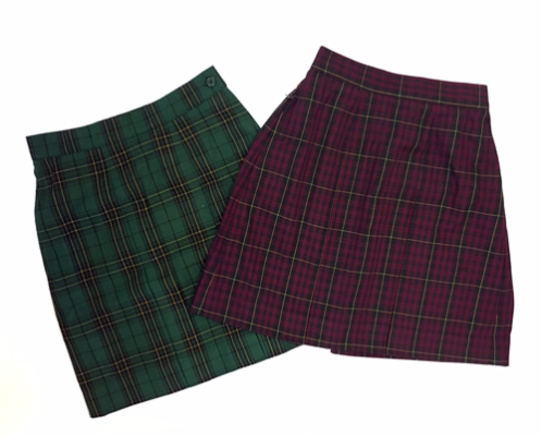 KNTC Kids School Uniforms Skirt Tartan