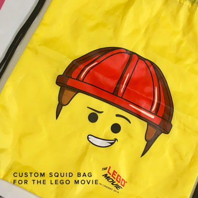 KNTC Uniforms Promotional Merchandise Artwork Logo Prints on Bag