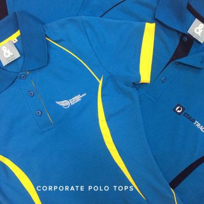 KNTC Corporate Office Uniform Polo Top Custom Made