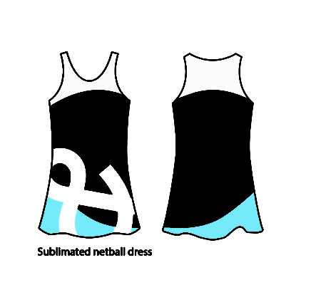 KNTC Kids School Uniforms Sublimated Netball Dress