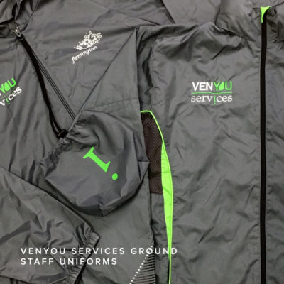 KNTC Custom Made Staff Uniforms Events and Merchandise