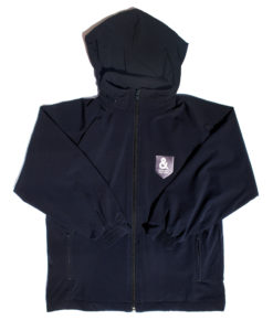 KNTC School Kids Uniform Windbreaker Jacket Hood Front