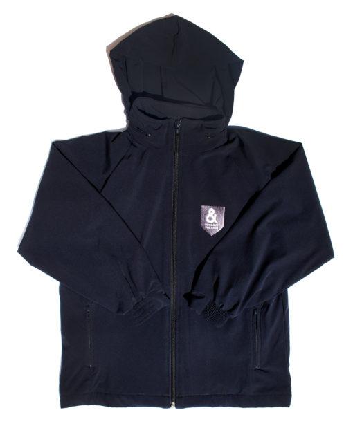 KNTC School Kids Uniform Windbreaker Jacket Hood Front