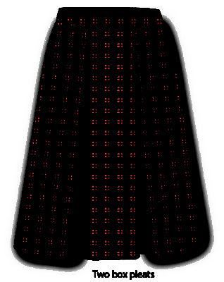 KNTC Kids School Uniforms Pleat Skirts